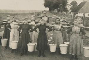 Melkerinnen in Habenhausen