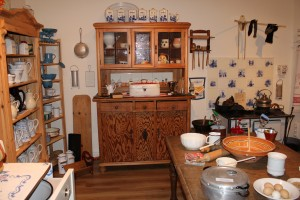 historische Küche