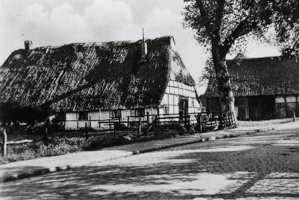 Das Beikenhaus an der Arster Heerstraße