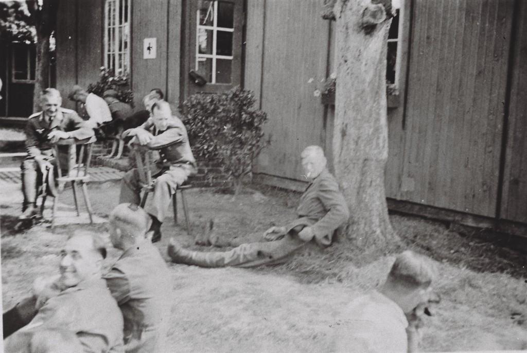 Flak-Baracke bei der Schule in Arsten