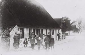 Häuslingshäuser von Gerdbätjer Arster Heerstraße 1920er Jahre