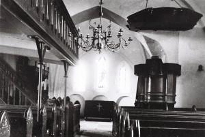 Innenraum der Kirche nach der Renovierung 1899