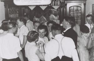 Hochzeitsfeier 1958