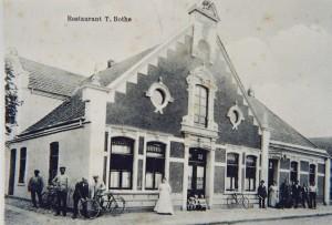 Postkarte vom Restaurant Tölke Bothe um 1913